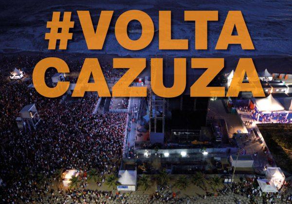 #VoltaCazuza